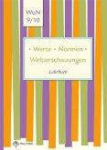 Werte . Normen . Weltanschauungen. Klassen 9/10. Lehrbuch. Niedersachsen