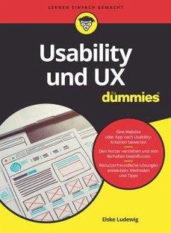 Usability und UX für Dummies - Ludewig, Elske