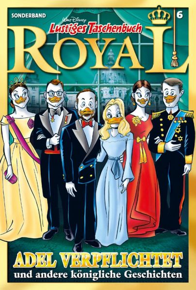 Buch-Reihe Lustiges Taschenbuch Royal
