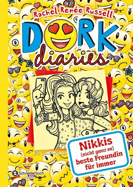 Buch-Reihe DORK Diaries von Rachel Renee Russell