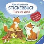 Mein allererstes Stickerbuch: Tiere im Wald (Mängelexemplar)