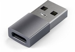 Satechi Aluminum Type-A to Type-C USB Adapter space gray