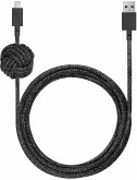 Native Union Night Cable USB-A to Lightning 3m Black