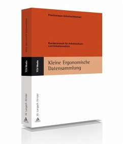 Kleine Ergonomische Datensammlung - Lange, Wolfgang;Windel, Armin