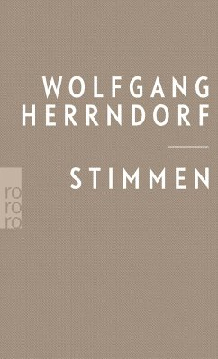 Stimmen - Herrndorf, Wolfgang