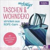 Woolly Hugs Taschen & Wohn-Deko stricken aus ROPE-Garn