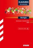 Klausuren für Lehrkräfte Biologie Nordrhein-Westfalen