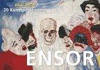 Postkartenbuch James Ensor