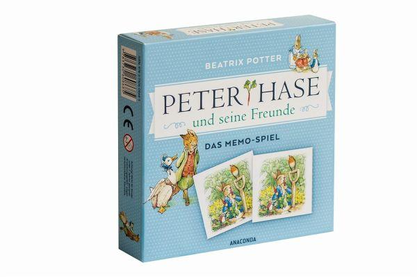 Peter Hase und seine Freunde - Das Memo-Spiel (Kinderspiel)