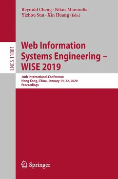 Web Information Systems Engineering - WISE 2019 (eBook, PDF)