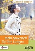Gesund bleiben - Mehr Sauerstoff tanken (eBook, ePUB)