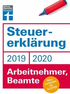 Steuererklärung 2019/2020 - Arbeitnehmer, Beamte (eBook, PDF) - Rauhöft, Angela; Fröhlich, Hans W.