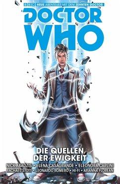 Doctor Who Staffel 10, Band 3 - Die Quellen der Ewigkeit (eBook, ePUB) - Abadzis, Nick