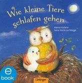 Wie kleine Tiere schlafen gehen (eBook, ePUB)