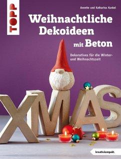 Weihnachtliche Dekoideen mit Beton