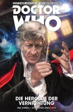 Doctor Who - Der Dritte Doctor - Die Herolde der Vernichtung (eBook, ePUB) - Cornell, Christopher