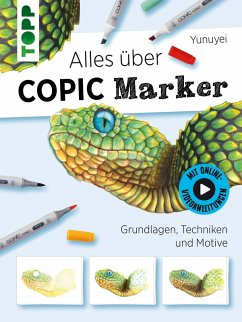 Alles über COPIC Marker (eBook, ePUB) - Yunuyei