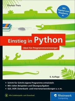 Einstieg in Python (eBook, ePUB) - Theis, Thomas