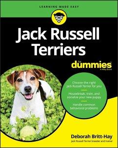 Jack Russell Terriers For Dummies (eBook, PDF) - Britt-Hay, Deborah