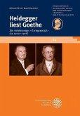 Heidegger liest Goethe (eBook, PDF)