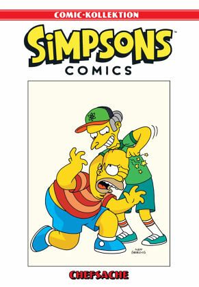 Buch-Reihe Simpsons Comic-Kollektion