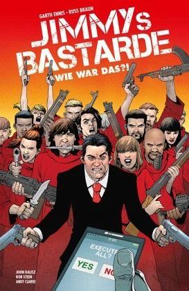 Buch-Reihe Jimmys Bastarde