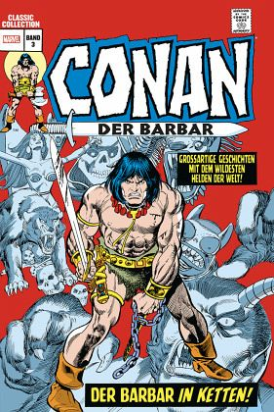 Buch-Reihe Conan der Barbar: Classic Collection