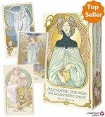 Ätherische Visionen - Das illuminierte Tarot, Tarotkarten + Booklet