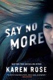 Say No More (eBook, ePUB)