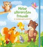 Meine allerersten Freunde in Spielgruppe und KiTa (Eichhörnchen) - Freundebuch ab 18 Monate