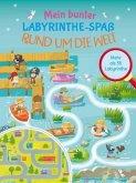 Mein bunter Labyrinthe-Spaß: Rund um die Welt