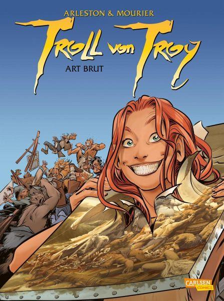 Buch-Reihe Troll von Troy