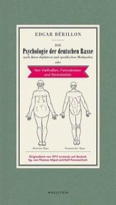Die Psychologie der deutschen Rasse - Bérillon, Edgar