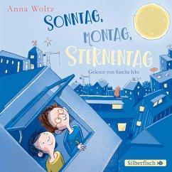 Sonntag, Montag, Sternentag, 1 Audio-CD - Woltz, Anna