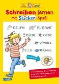 Schreiben lernen mit Sticker-Spaß / Conni Gelbe Reihe Bd.50