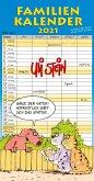 Uli Stein - Familienkalender 2021: Familienplaner mit 5 Spalten