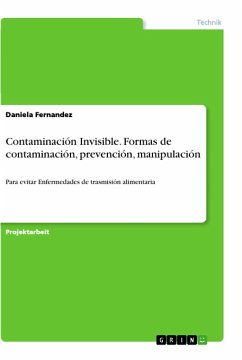 Contaminación Invisible. Formas de contaminación, prevención, manipulación