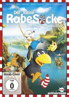 Der kleine Rabe Socke - Suche nach dem verlorenen Schatz, 1 DVD