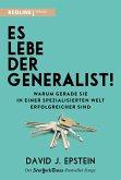 Es lebe der Generalist! (eBook, ePUB)