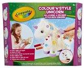 Crayola Colour 'N' Style Kreativ-Sets Style-mich Einhorn