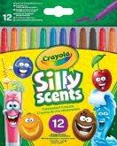 Crayola 12 Silly Scents Duftende Twistable Wachsmalstifte