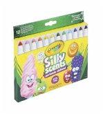 Crayola 12 Silly Scents Broadline Filzstifte