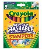 Crayola 8 Ultra-Clean auswaschbare Mini Stempel