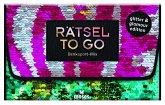 Rätsel to go Denksport-Mix: glitter & glamour edition