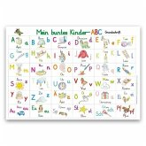 Mein buntes Kinder-ABC Grundschrift Lernposter glänzend