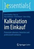Kalkulation im Einkauf (eBook, PDF)