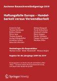Aachener Bausachverständigentage 2019 (eBook, PDF)