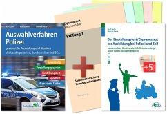 Auswahlverfahren und Einstellungstest Polizei - alles in einem Paket - Guth, Kurt; Mery, Marcus; Mohr, Andreas