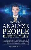 How to Analyze People Effectively