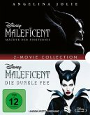 Maleficent 1+2 - 2 Disc Bluray